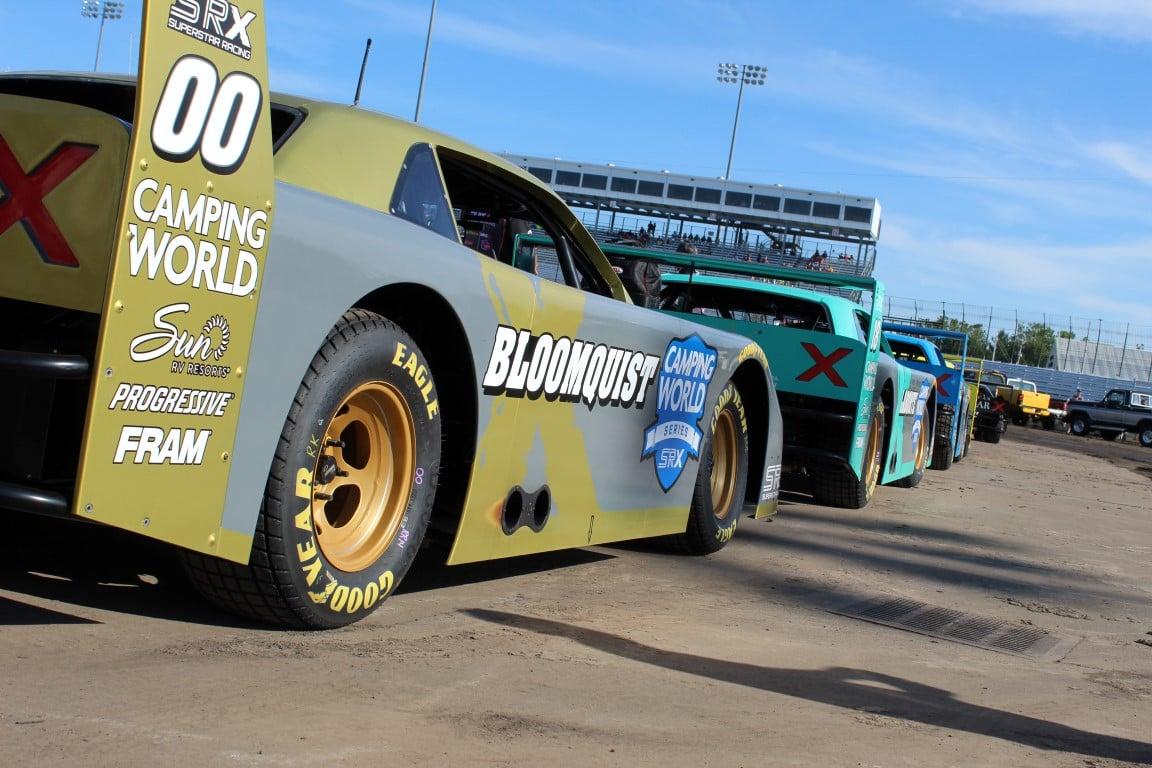 SRX Series - Knoxville Raceway - Scott Bloomquist