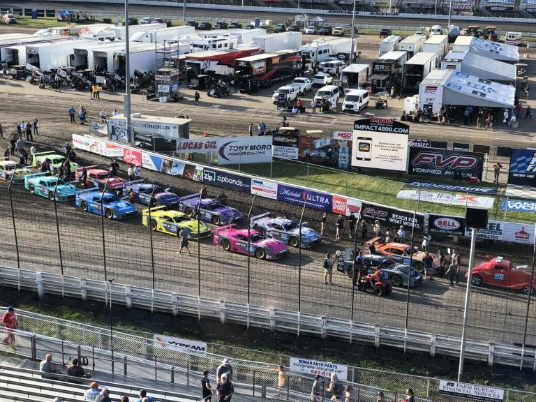 SRX Series - Knoxville Raceway dirt track