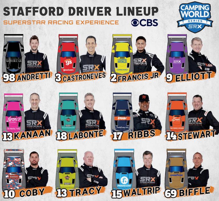 Stafford Speedway - SRX Drivers