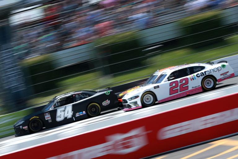 Ty Gibbs, Austin Cindric - Pocono Raceway - NASCAR Xfinity Series