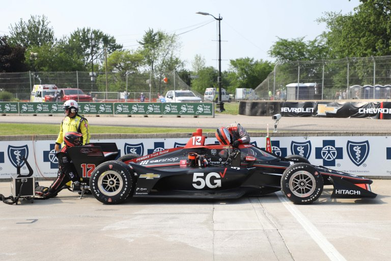 Will Power - Detroit Grand Prix - Belle Isle Park - Indycar Series