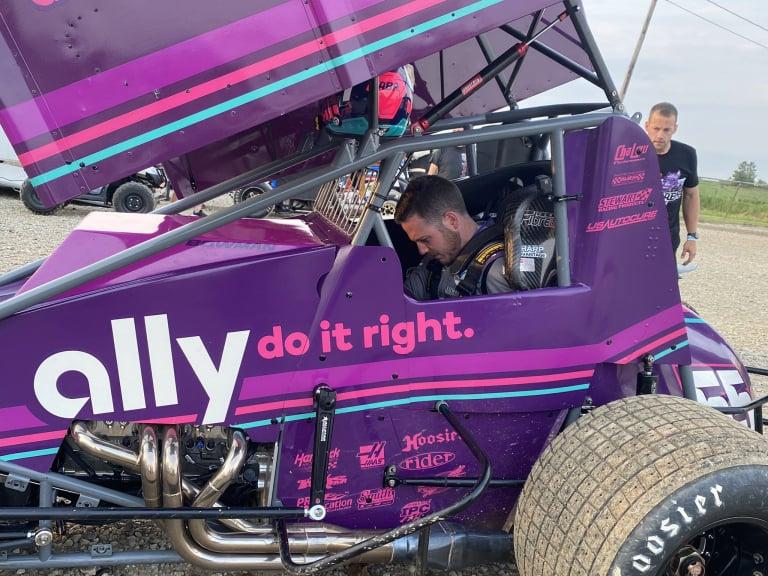Alex Bowman - ally dirt sprint car - 55