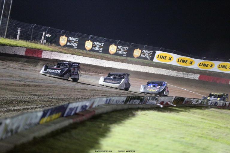 Brandon Overton, Hudson O'Neal, Ricky Thornton Jr - I80 Speedway - Dirt Track Racing 7643