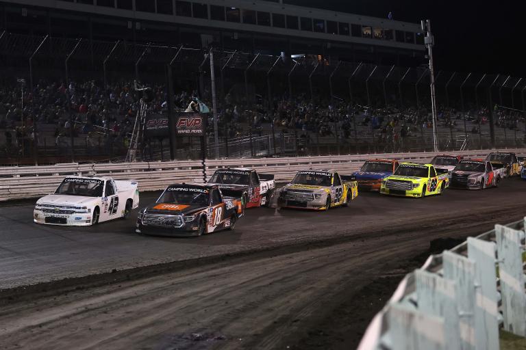 Chandler Smith, Carson Hocevar, Austin Hill - Knoxville Raceway - NASCAR Truck Series
