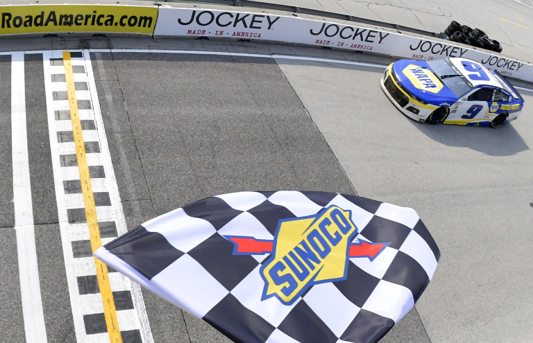 Chase Elliott wins - Road America - NASCAR Cup Series