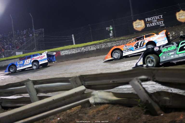 Chase Junghans, Kyle Bronson, Stormy Scott - I-80 Speedway - Silver Dollar Nationals 8277