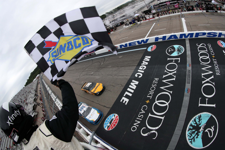 Christopher Bell wins - New Hampshire Motor Speedway - NASCAR Xfinity Series