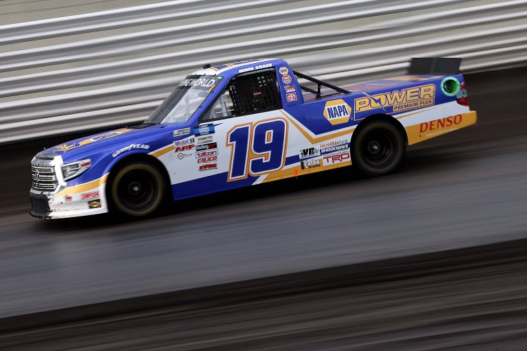 Derek Kraus - Knoxville Raceway Dirt Track - NASCAR Truck Series