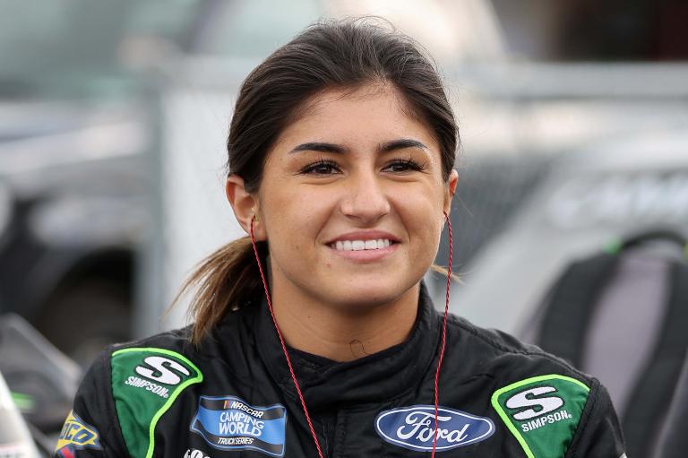 Hailie Deegan - Knoxville Raceway Dirt Track - NASCAR Truck Series