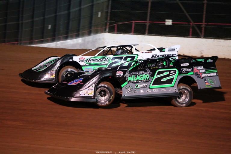 Jimmy Owens, Stormy Scott - Lucas Oil Speedway - Lucas Oil Late Model Dirt Series 7511