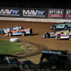 Jonathan Davenport, Kyle Bronson, Stormy Scott, Josh Richards - Lucas Oil Speedway - Lucas Oil Late Model Dirt Series 7511