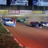Jonathan Davenport and Tim McCreadie at Portsmouth Raceway Park - Lucas Oil Late Model Dirt Series 7223
