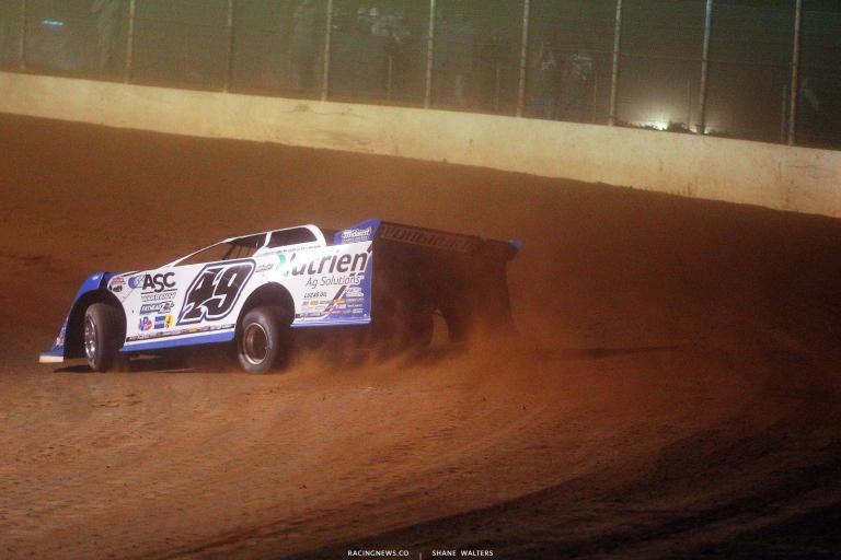 Jonathan Davenport at Portsmouth Raceway Park - Lucas Dirt 7175