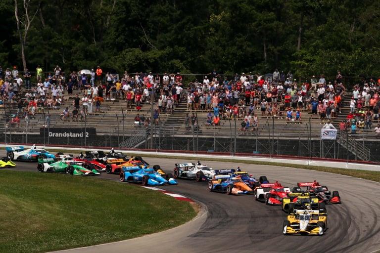 Josef Newgarden, Colton Herta, Marcus Ericsson - Mid-Ohio - Indycar Series
