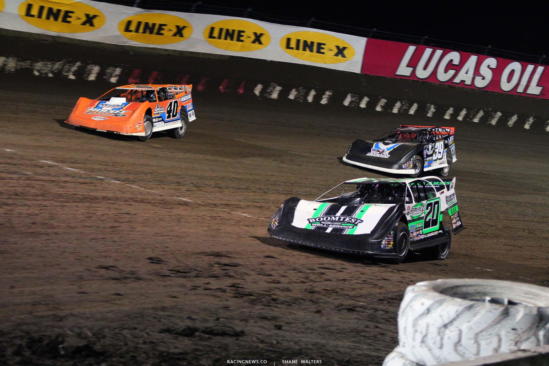 Kyle Bronson, Jimmy Owens, Tim McCreadie - I-80 Speedway - Silver Dollar Nationals - Dirt Track Racing 8251