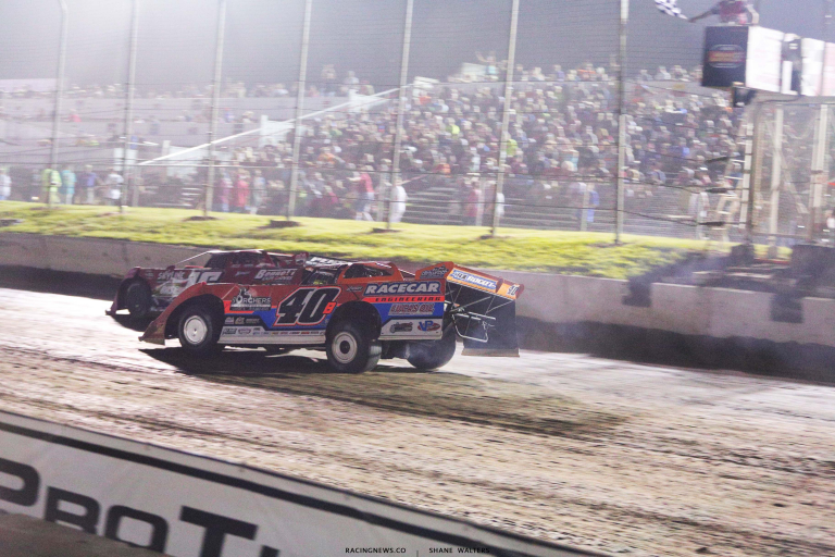 Kyle Bronson wins at I-80 Speedway - Silver Dollar Nationals 8363