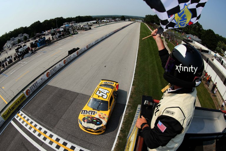 Kyle Busch wins - NASCAR Xfinity Series - Road America
