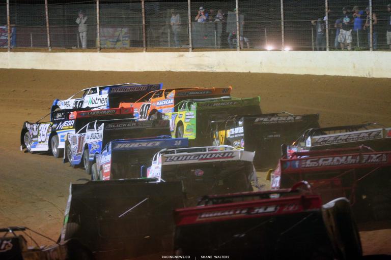 Lucas Late Models - Portsmouth Raceway Park - OH Dirt Track 7211