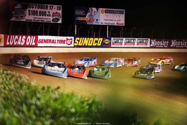 Lucas Oil Late Model Dirt Series - Portsmouth Raceway Park - Ohio Dirt Track 7199