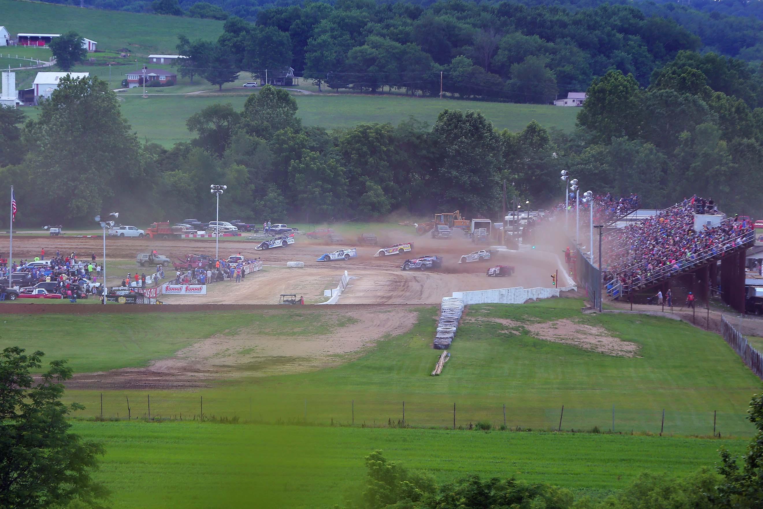 Muskingum County Speedway - Lucas Oil Late Model Dirt Series 7313