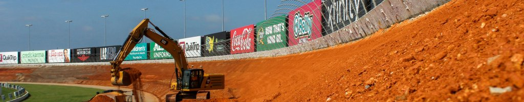 Atlanta Motor Speedway: First look at new track banking