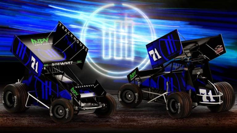 Shane Stewart - Trackhouse Racing - Dirt Sprint Car