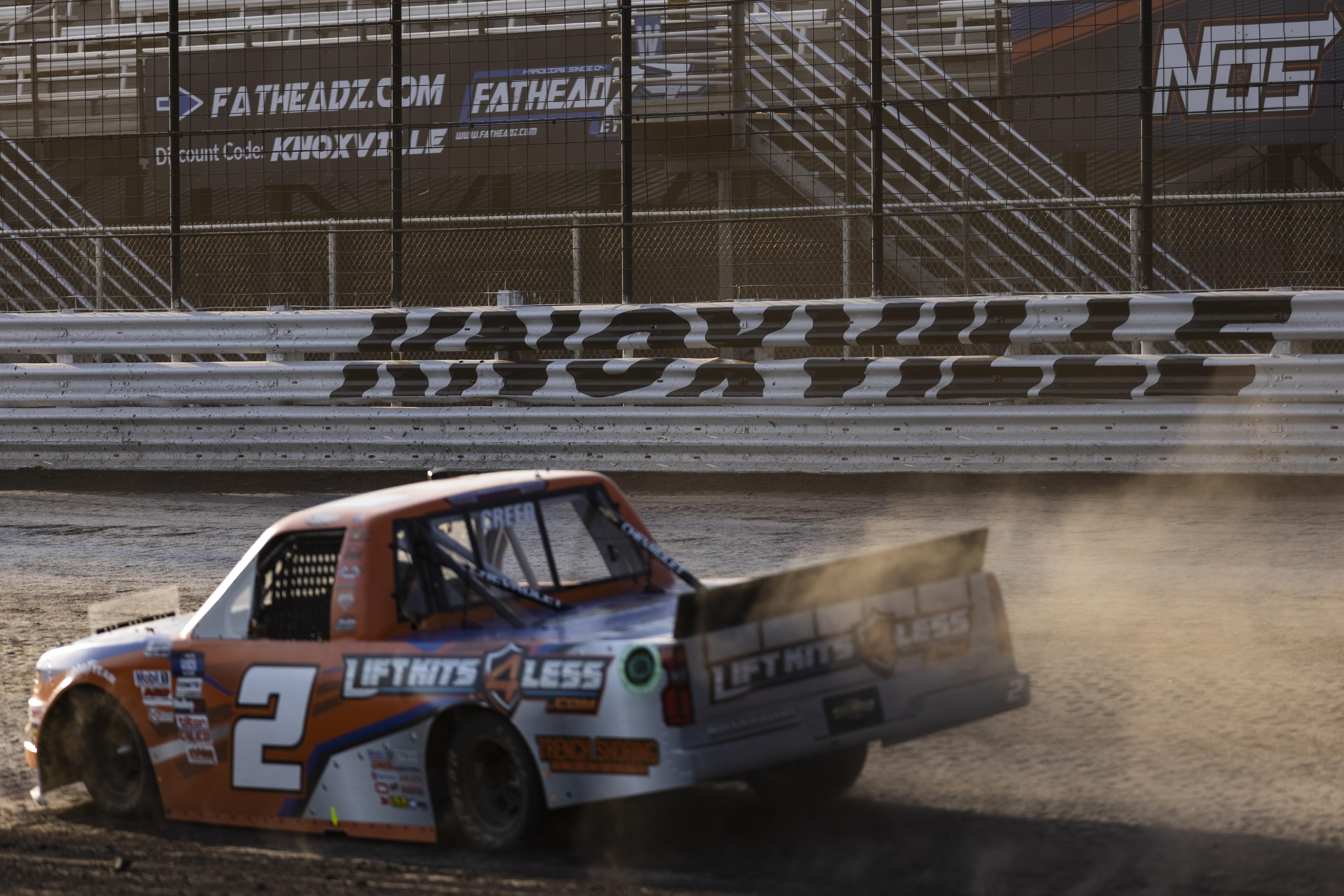 Sheldon Creed - NASCAR Truck Series - Knoxville Raceway Dirt Track Racing