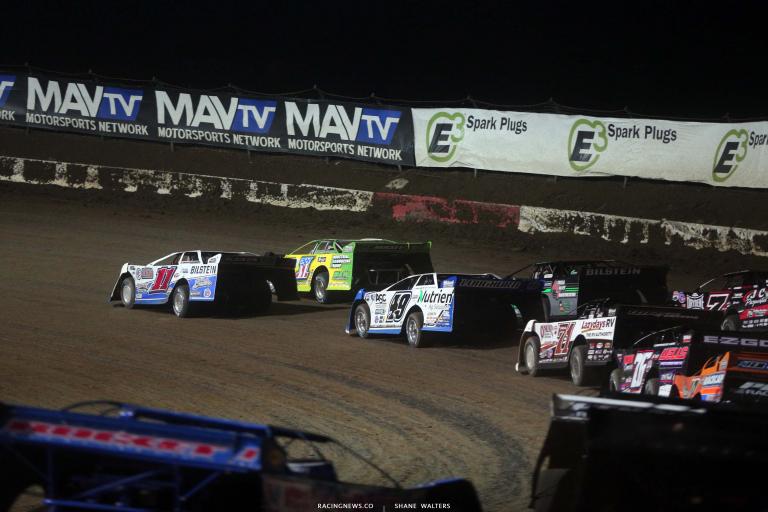 Spencer Hughes, Tyler Erb - I-80 Speedway - Lucas Oil Late Model Dirt Series 7746