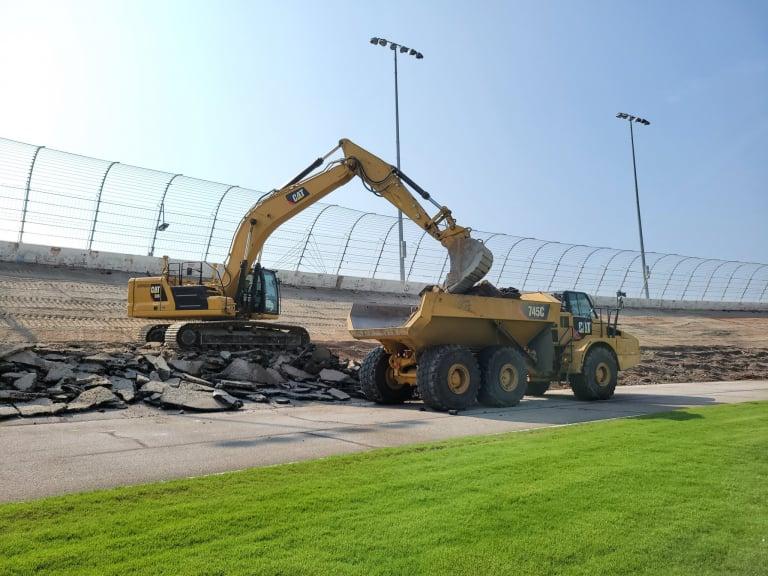 Tearing up Atlanta Motor Speedway