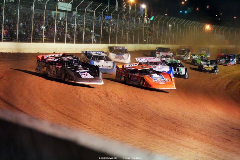 Tim McCreadie and Kyle Bronson - Portsmouth Raceway Park - Lucas Series 7084