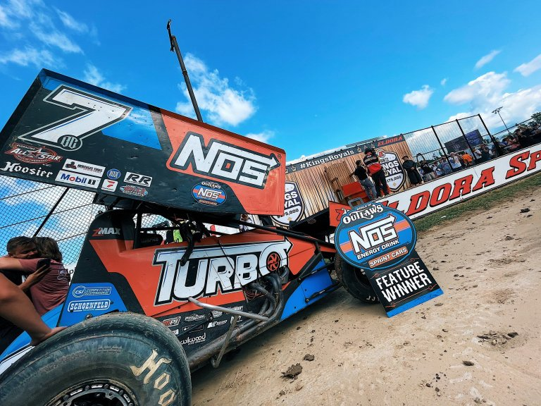 Tyler Courtney - King's Royal - Eldora Speedway winner
