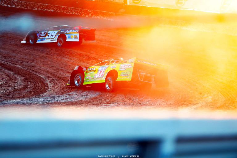 Tyler Erb, Tim McCreadie - I-80 Speedway - Nebraska Dirt Track Racing 8124