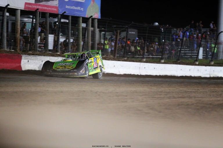 Tyler Erb at I-80 Speedway - Lucas Series 7963.