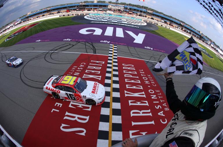 AJ Allmendiner wins Michigan International Speedway - NASCAR Xfinity Series