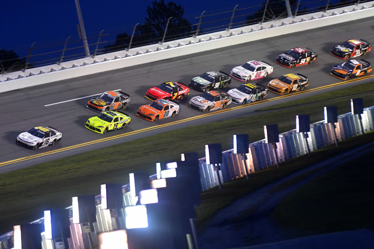 AJ Allmendinger, Brandon Jones, Noah Gragson - Daytona International Speedway - NASCAR Xfinity Series