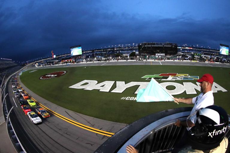AJ Allmendinger, Noah Gragson - Daytona International Speedway - NASCAR Xfinity Series