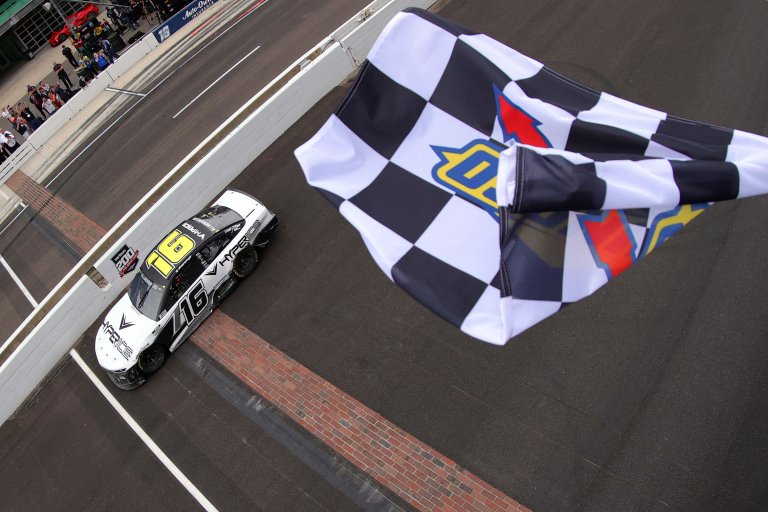 AJ Allmendinger wins on the Indianapolis Motor Speedway Road Course - NASCAR Cup Series