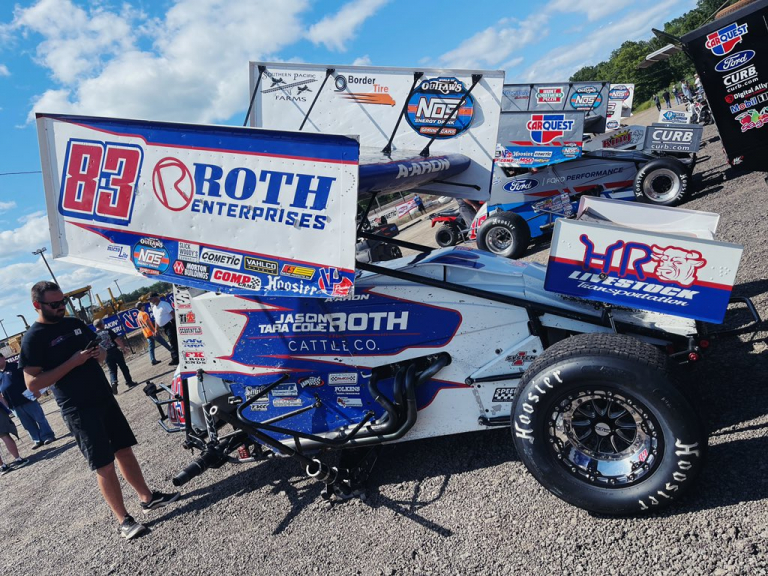 Aaron Reutzel - Roth Motorsports - World of Outlaws
