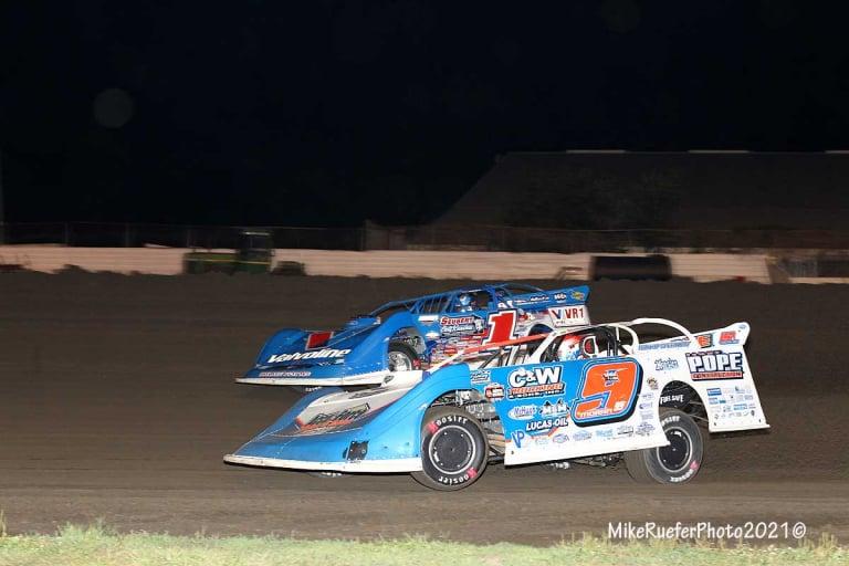 Brandon Sheppard, Devin Moran - Davenport Speedway - World of Outlaws Late Model Series