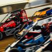 Dirt Midget Racing - 4 Wide - BC39 - Indianapolis Motor Speedway Dirt Track