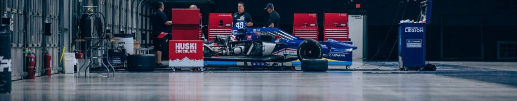 Jimmie Johnson tests Indycar oval (Video)