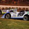 Jonathan Davenport and Tyler Erb - Lucas Oil Late Model Dirt Series - Florence Speedway 8447