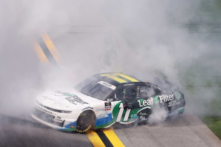 Justin Haley wins Daytona International Speedway - NASCAR Xfinity Series
