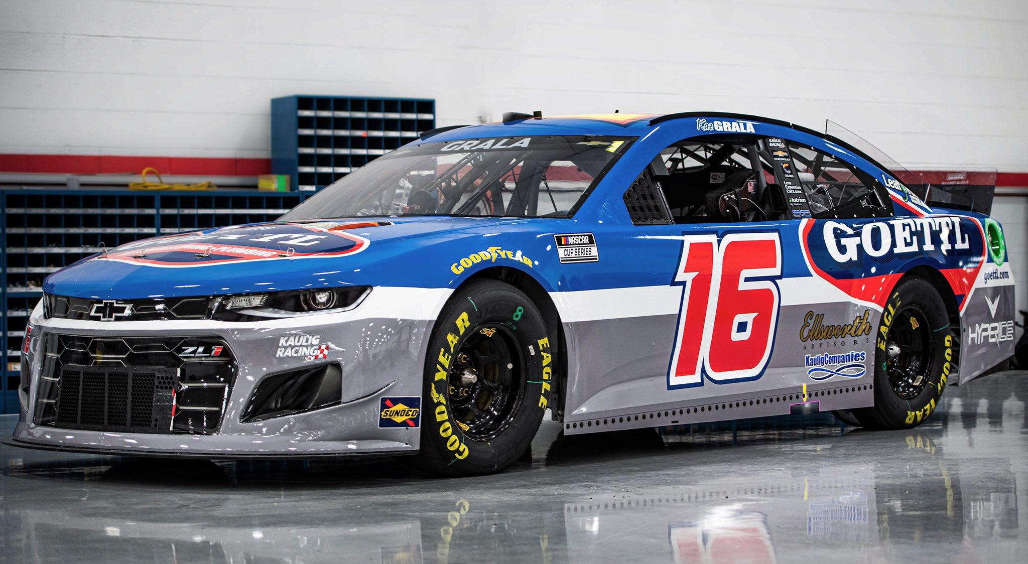 Kaz Grala - NASCAR Cup Series