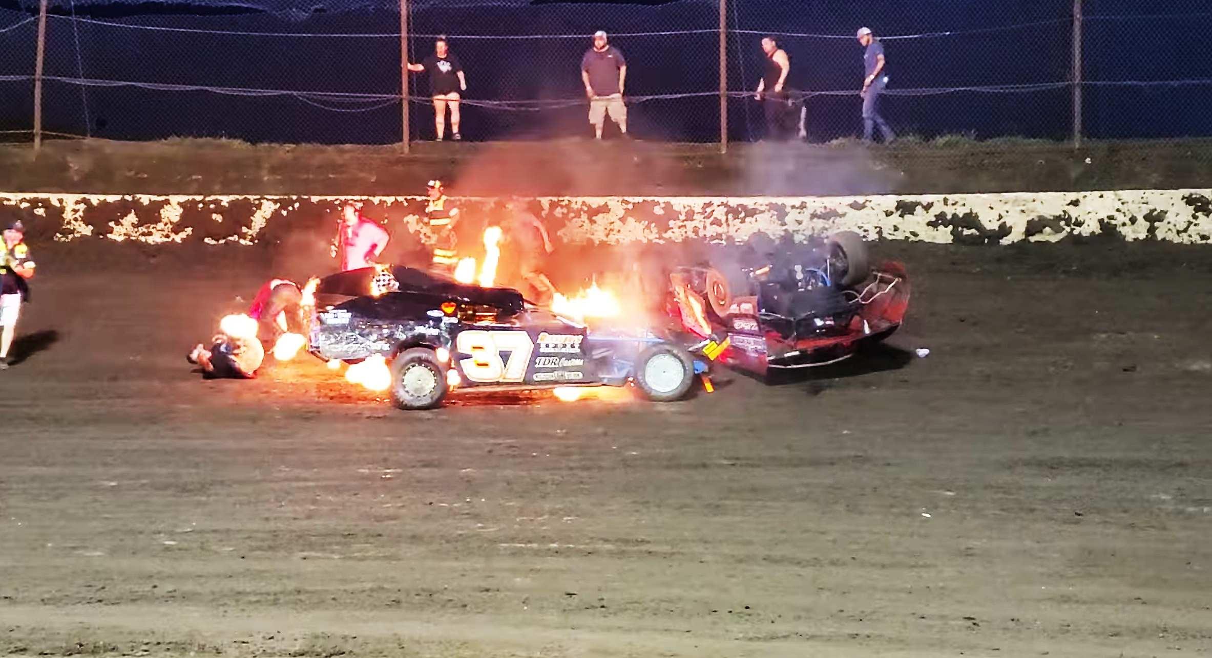 Macon Speedway Fire