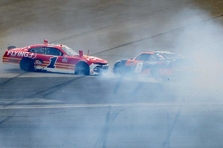 Michael Annett, Sam Mayer crash - Daytona International Speedway - NASCAR Xfinity Series