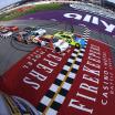 Michigan International Speedway green flag - NASCAR Xfinity Series