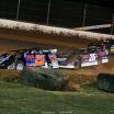 Ricky Thornton Jr, Brandon Overton, Mike Marlar - Florence Speedway - Lucas Oil Late Model Dirt Series 8411