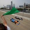 Scott Dixon, Josef Newgarden - Bridge - Nashville Street Circuit - Indycar Series
