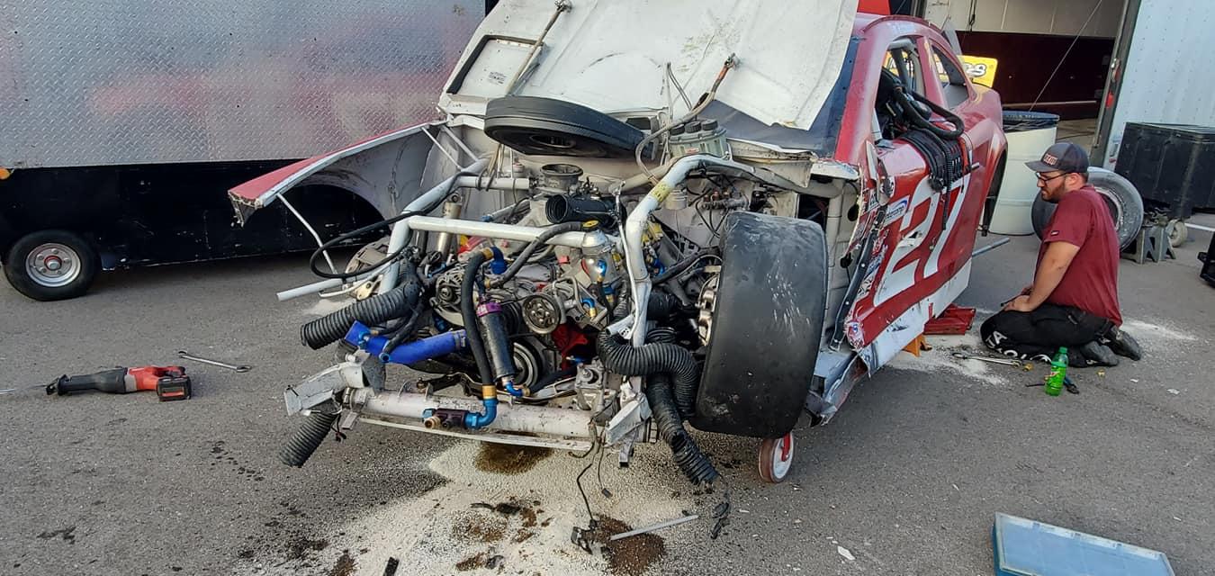 Tim Richmond crash photo